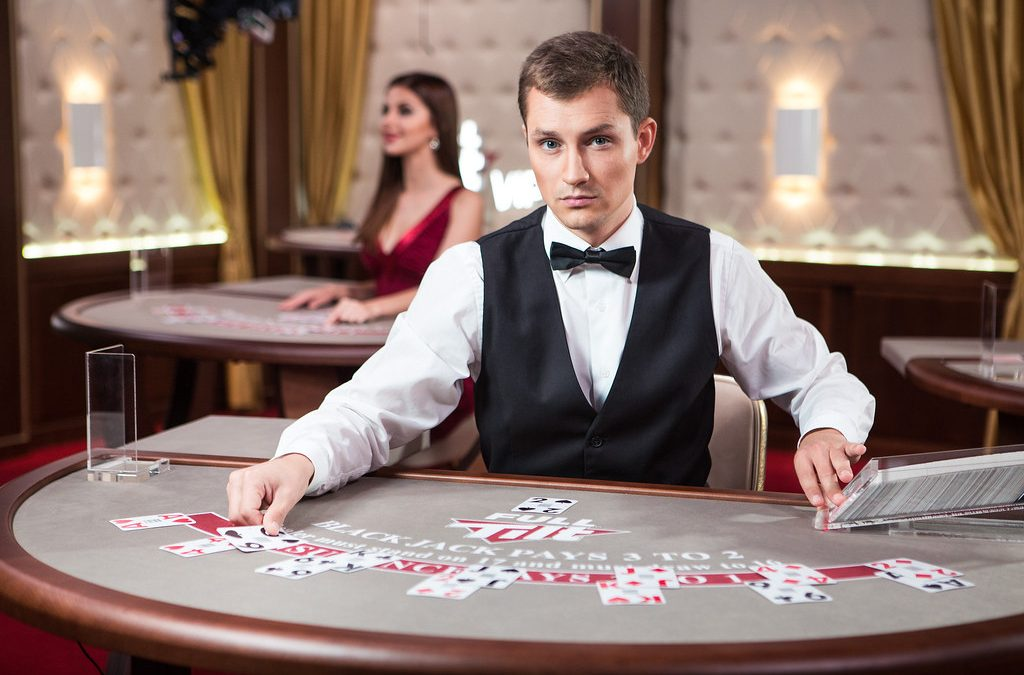 How can the economic status be improved by playing online casino games?